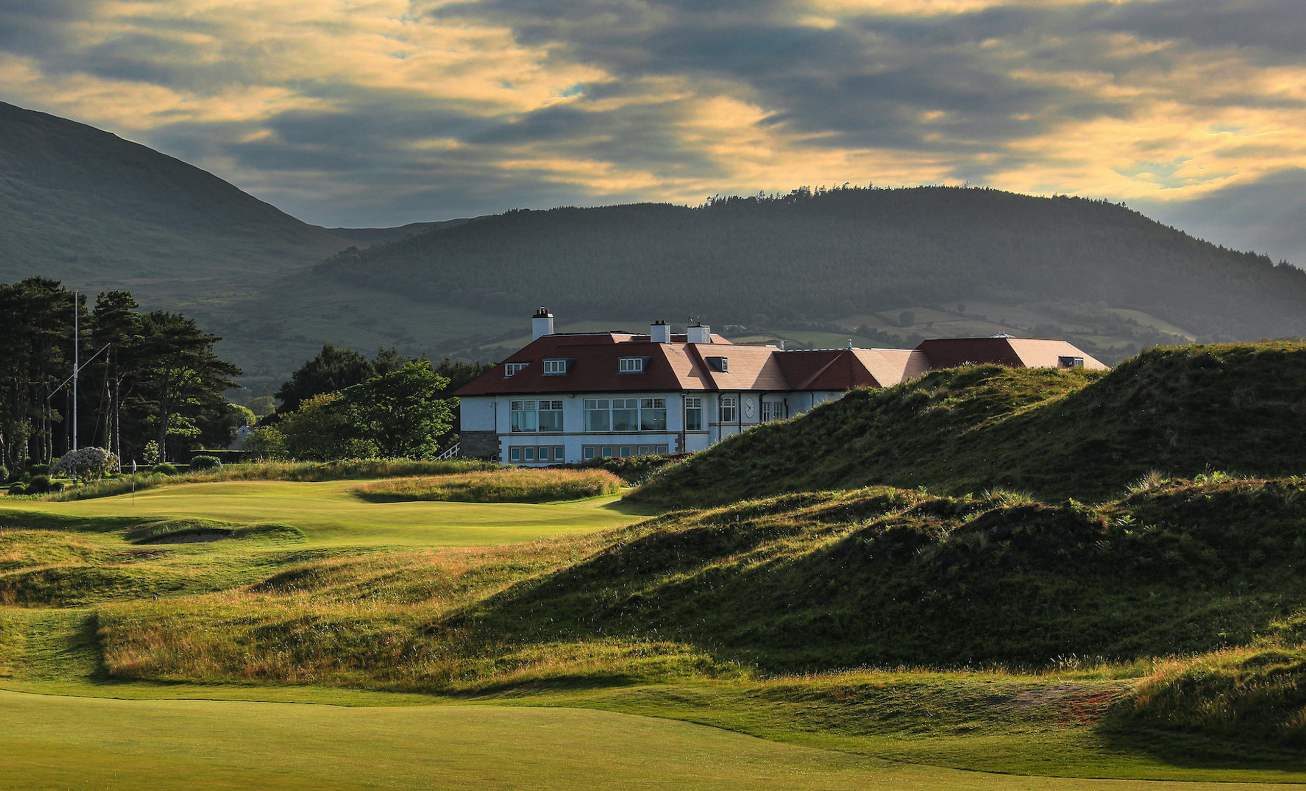 Royal County Down Golf Club Clubhouse
