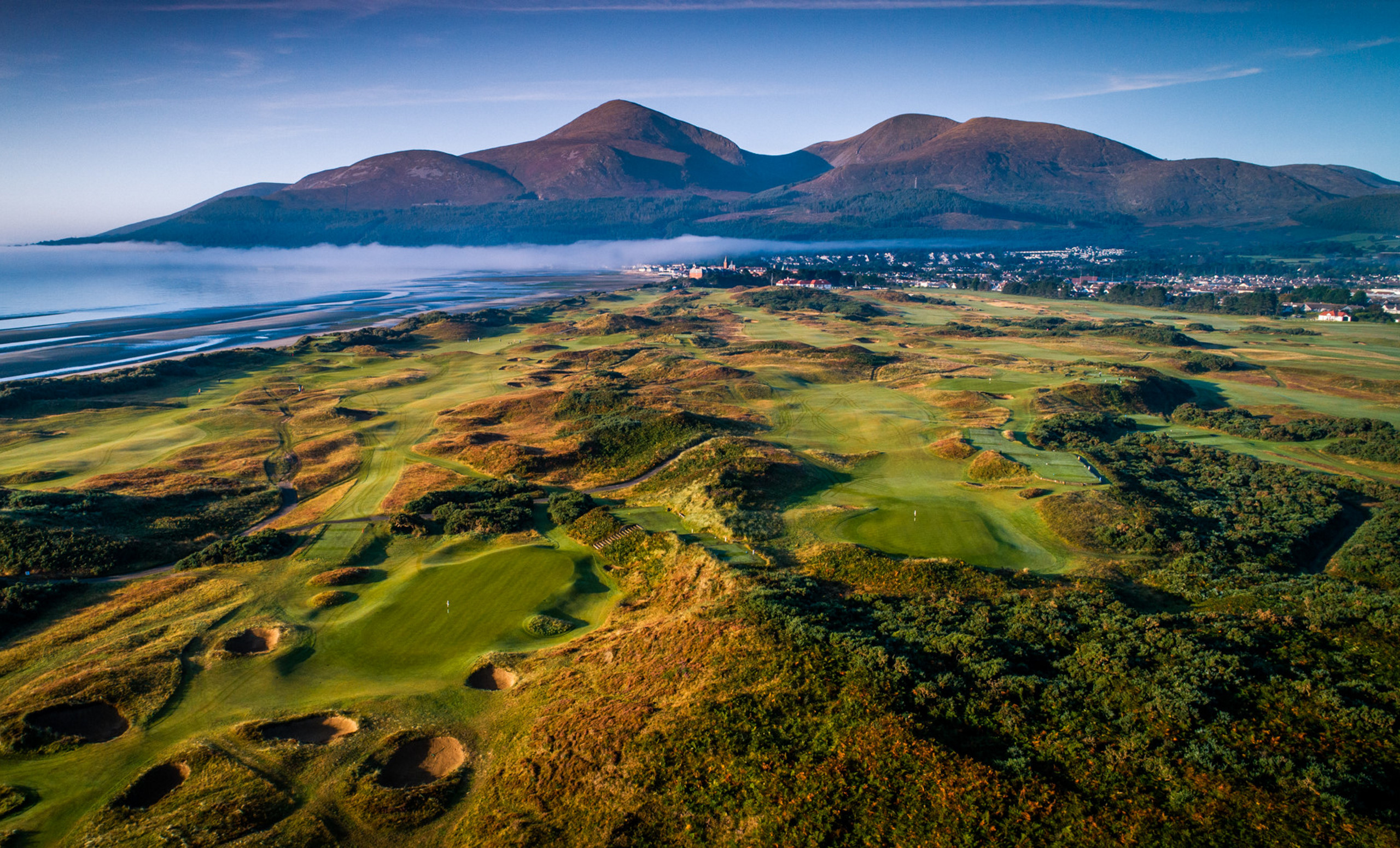 Royal County Down Links and Mountains