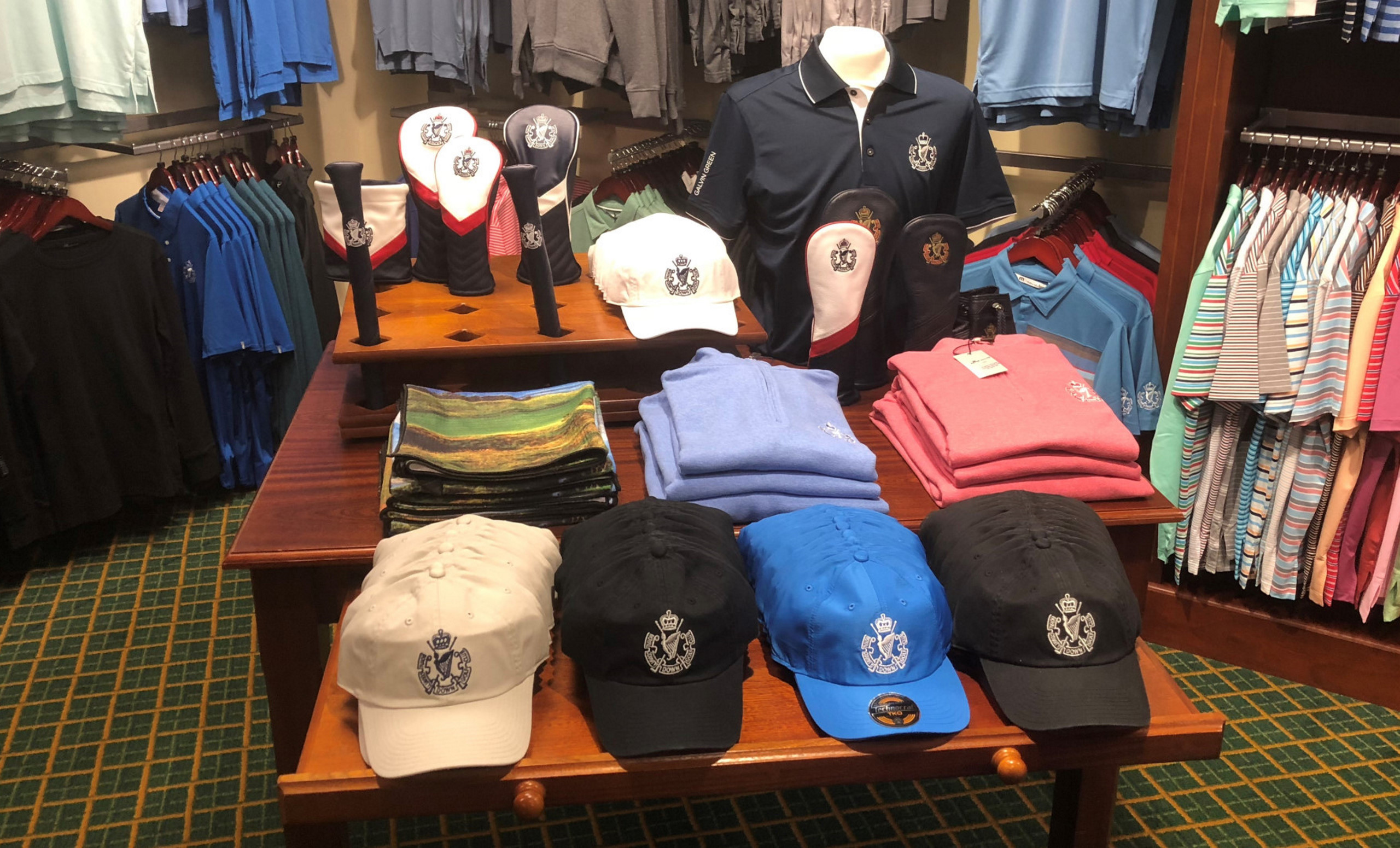 Royal County Down Golf Club Pro Shop Ireland